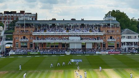 General view of play at Lord's