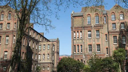 St Pancras Hospital, where Camden and Islington Trust is based. Picture: Nigel Sutton