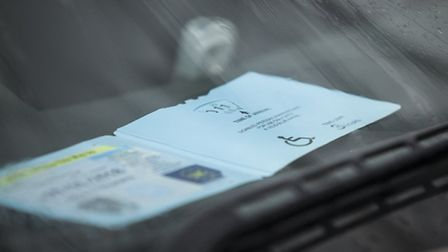 Yusef admitted using a stolen blue badge (STOCK PIC)