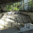 Pripyat's ruined swimming pool in Chernobyl. Picture: Dominika Trelinska.