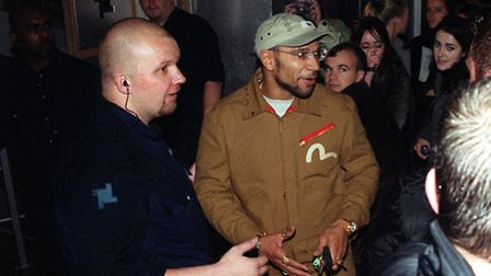 Dance star Goldie was turned away by bouncers on Fabric's opening night in 1999 because the club was