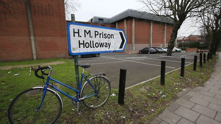 The former Holloway Prison, in Parkhurst Road. Picture: Jonathan Brady/PA Wire