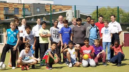 Newman Catholic College funded a successful police summer school for pupils Pic credit: Adam Tiern