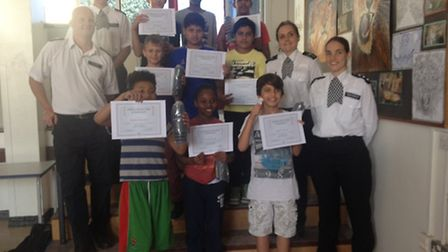 Pupils at Newman Catholic College spent four weeks of fun at the free police summer camp