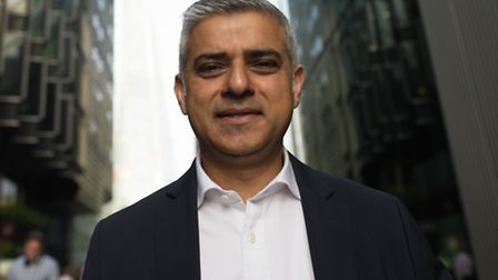 Sadiq Khan made the announcement today Picture: Stefan Rousseau/PA Images