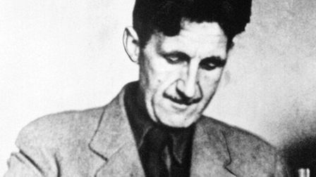 """Author Eric Arthur Blair, better known by his pen-name, """"George Orwell"""", wrote parts of Nineteen Eig"""