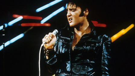 Elvis Presley's '68 Comeback Special leather outfit.