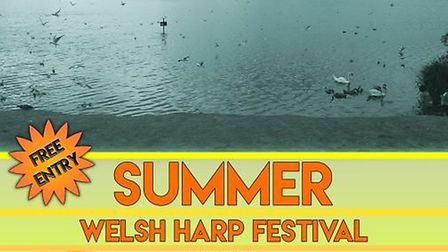 Welsh Harp Summer Festival is taking place on Saturday