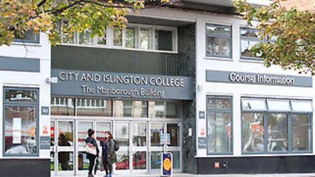 City and Islington College in Holloway Road