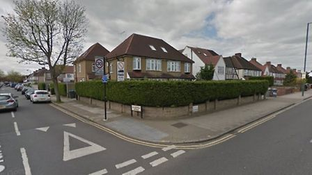 The boy and his grandfather were injured in Kenton (Pic: Google)
