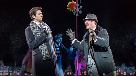 Groundhog Day at the Old Vic. Picture. Manuel Harlan.