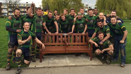 The male rugby team at Kilburn Cosmos