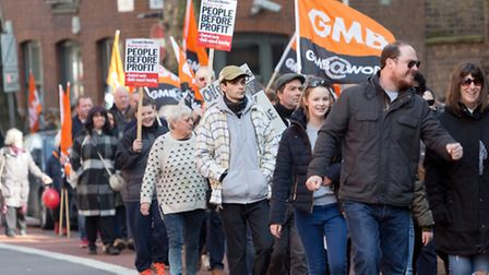 Islington marches against 'pay-to-stay' (Picture: Vickie Flores)