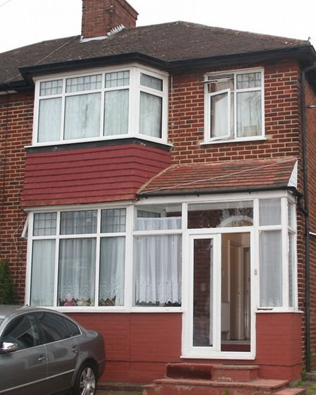 The council recieved a tip-off about the house in Whitsby Gardens, Kingsbury (Pic: Brent Council)