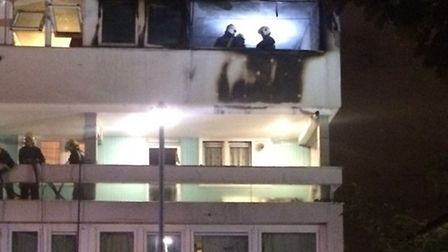 Firefighters have issued candle safety advice after a blaze at a block of flats in Finsbury Park las