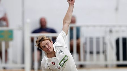 Jordan Gregory took five wickets for North London in their nail-biting win over South Hampstead