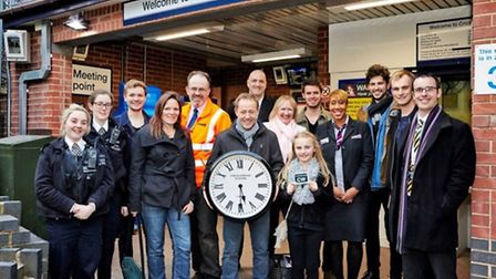 Cricklewood Town Team volunteers have been nomintated for an award for enhancing Cricklewood Station