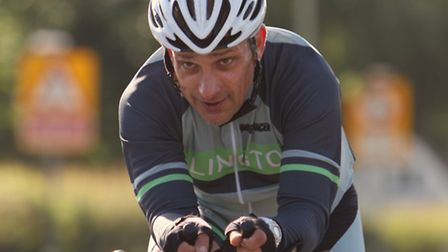 David Shannon at an Islington Cycling Club time trial. Picture: David Shannon