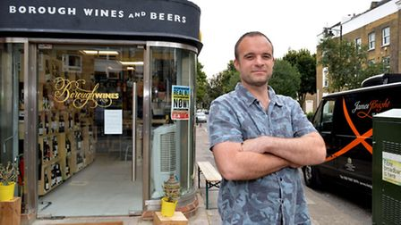 Ian Campbell, owner of Borough Wines and Beers, sees much of the Englefield Road warden activity fro