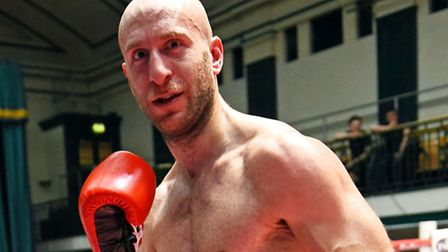 Archway light-middleweight Tony Milch. Pic: Philip Sharkey/TGS Photo