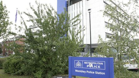 Wembley Police Station was forced to close for several hours