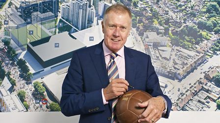 Sir Geoff Hurst scored a hat trick at the finals (Pic: Jules Selmes)