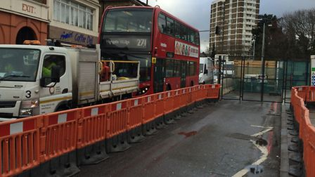 Typical congestion at Highbury Corner's junction with Holloway Road. Picture: Ken Mears