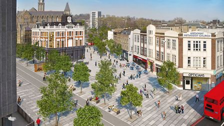 How the gyratory will look after TfL has completed work