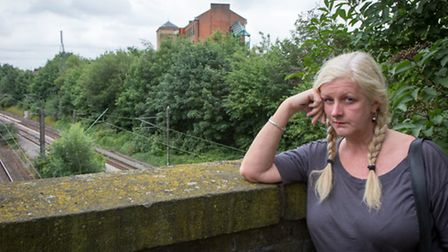 """Tracy Brent, claims Network Rail ridding three miles of greenery including her tree is """"deforesting"""