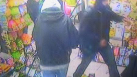 CCTV from Food City shows looters on the rampage