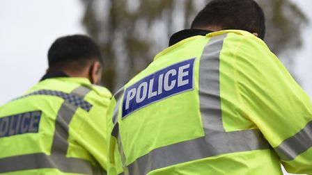 Police are hunting for the cowardly trio who struck on Monday