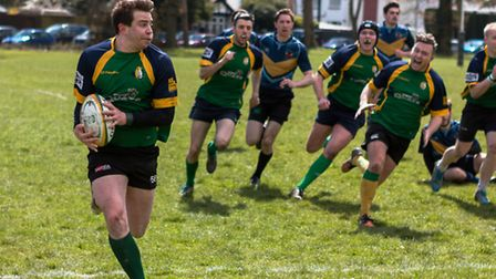 Finsbury Park RFC in action. Pic: Rebecca Dixon Photography