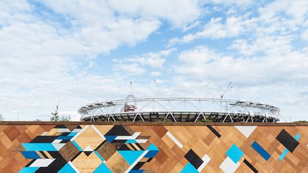 Mark McClure's Living Wall was part of the Olympic Park project