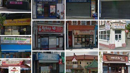 The 'unlucky 13' takeaways and restaurants in Brent are all zero-rated