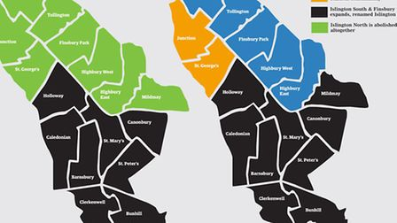 How the borough could look under the proposed changes