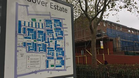 The Andover Estate is one of the worst hit areas in the borough