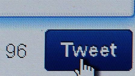 A general view of a Twitter page on a laptop screen (Picture: Dave Thompson/PA Wire)