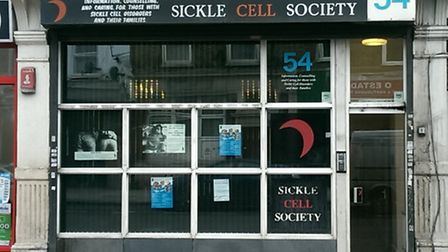 The group was provided by the Sickle Cell Society
