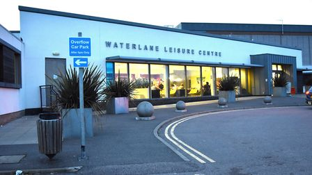 Waterlane Leisure Centre, in Lowestoft. Photo: Mick Howes