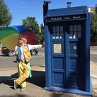 The Kindness Offensive Tardis in Camden Road. Picture: The Kindness Offensive