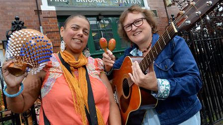 Nadia Al Faghih Hasan and Angela Reith are starting a singing and percussion group in Mayton Street,