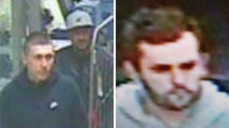 Hertfordshire Police would like to speak to these three men