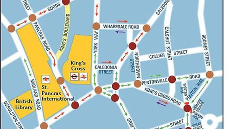 Transport for London's (TfL) plans to improve the King's Cross road network. Picture: TfL