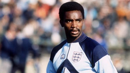 Laurie Cunningham playing for England in 1980. Picture: Peter Robinson/Empics