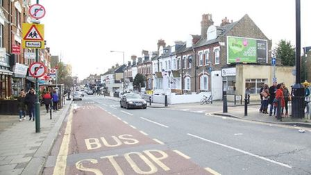 Drivers claim the signs were hidden if a bus is on the outside lane (Pic: Adam Tiernan Thomas)