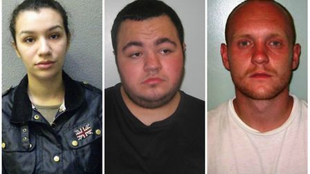 Mansouri, Penny and Rabbitt (Pic: Met Police)