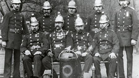 Firefighters from Clerkenwell fire station, c.1900. Picture: Islington Local History Centre