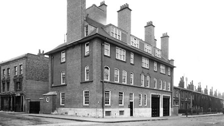 Caledonian fire station in Copenhagen Street, closed in 1920. Picture: London Fire Brigade/Mary Evan