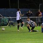 The late winner from Kirkley and Pakefield's Louis Tillett in their 2-1 triumph over Woodbridge Town