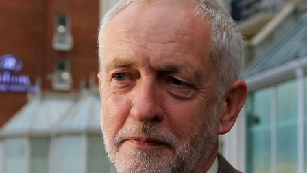 Jeremy Corbyn pictured on Monday, the first anniversary of his election as Labour Party leader. Pict